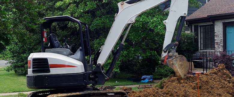 Need emergency repair or are just installing a new sewer line? Call Joyner today for expert excavation services.